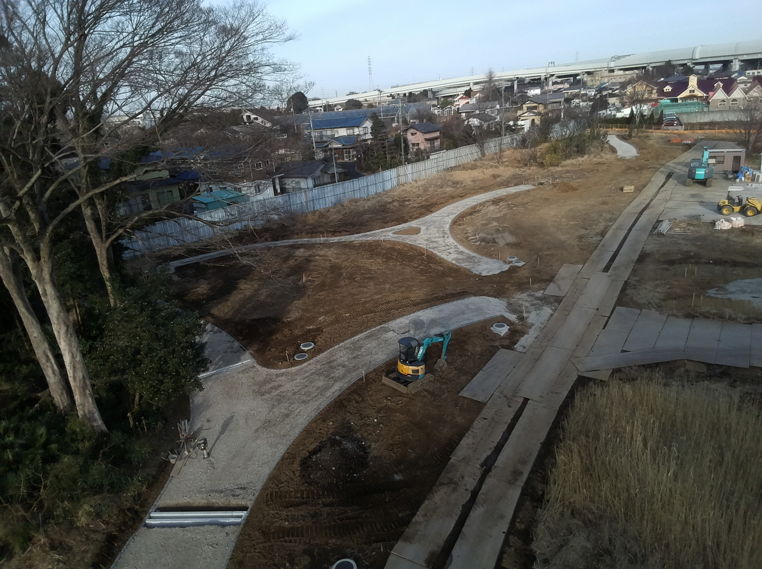 赤山歴史自然公園園路整備工事