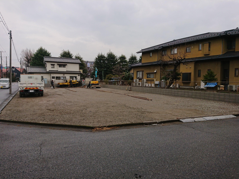 川口市領家駐車場舗装工事