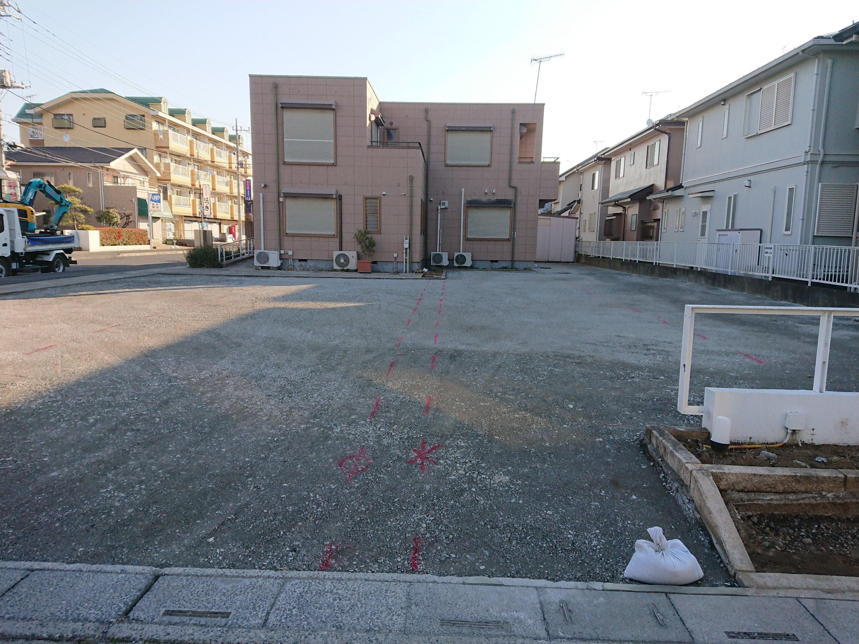 杉戸町高野台山根医院駐車場舗装工事