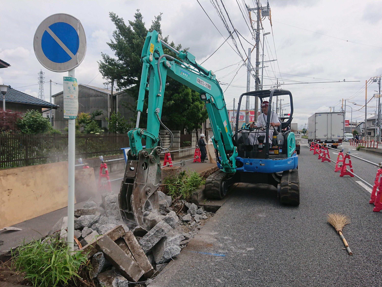 交差点整備工事(本蓮工区)