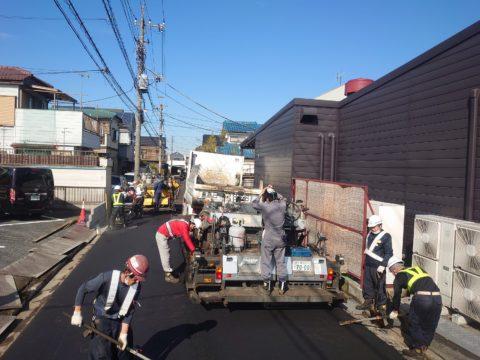 川口舗装復旧工事