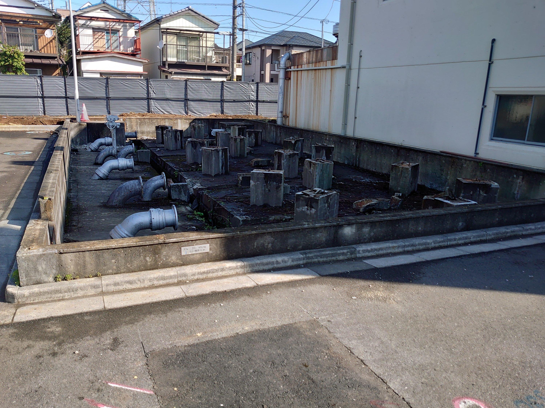 浄水場取り壊し工事